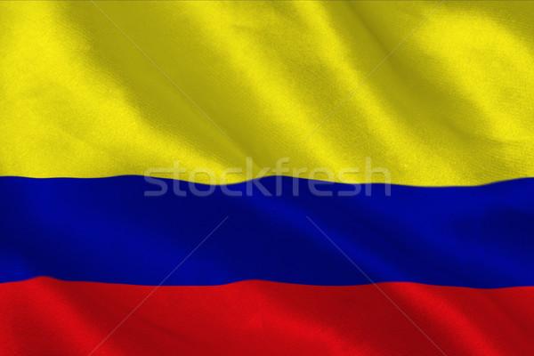 Colômbia bandeira Bélgica Foto stock © wavebreak_media