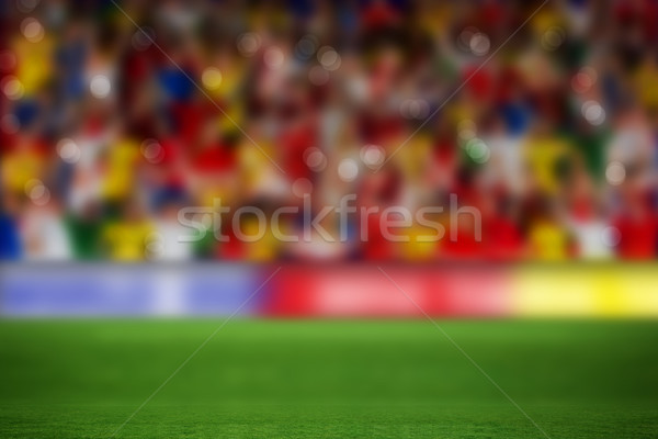 サッカー ピッチ 群衆 コピースペース ストックフォト © wavebreak_media