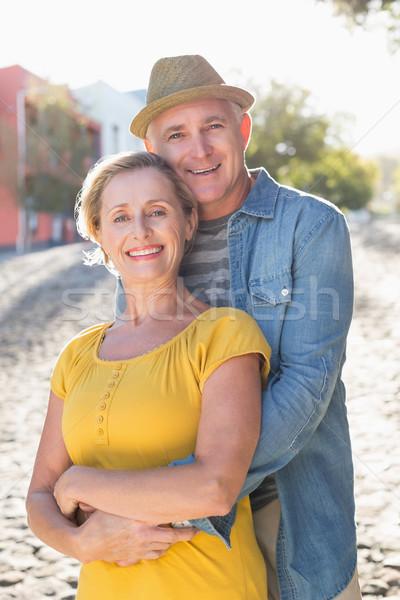 счастливым зрелый пару город Сток-фото © wavebreak_media
