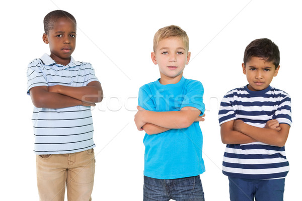 Cute children pouting at camera  Stock photo © wavebreak_media