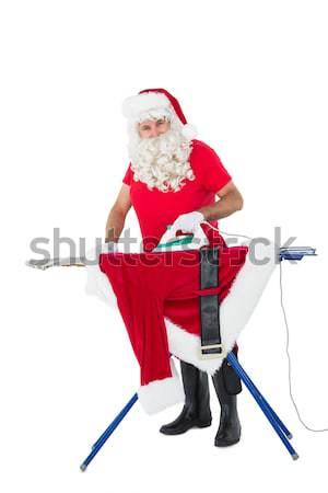 Santa claus keeping a secret  Stock photo © wavebreak_media