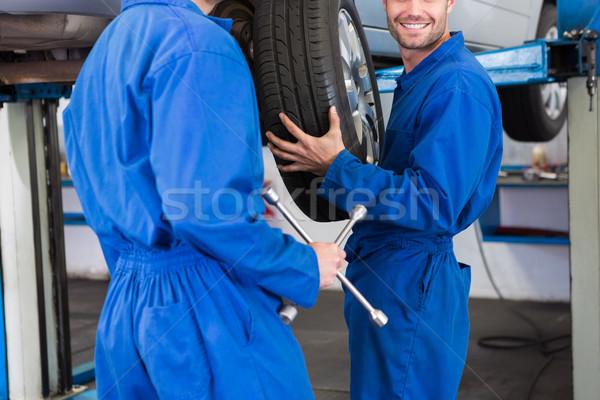 Quipe m canique r paration garage ouvrir la for Ouvrir son garage mecanique