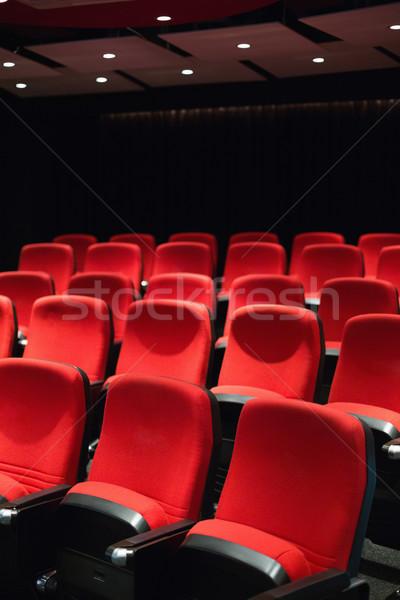 пусто красный фильма Председатель Сток-фото © wavebreak_media