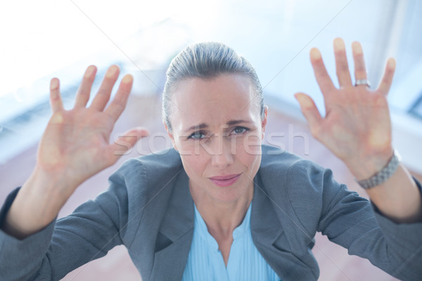 Businesswoman feeling trapped Stock photo © wavebreak_media