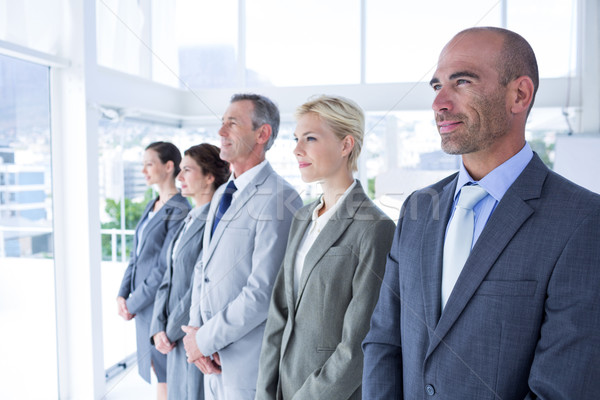 Business people standing in a row Stock photo © wavebreak_media