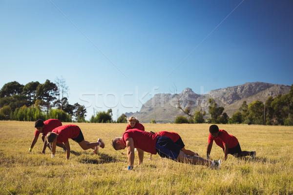 тренер подготовки дети загрузка лагерь Сток-фото © wavebreak_media