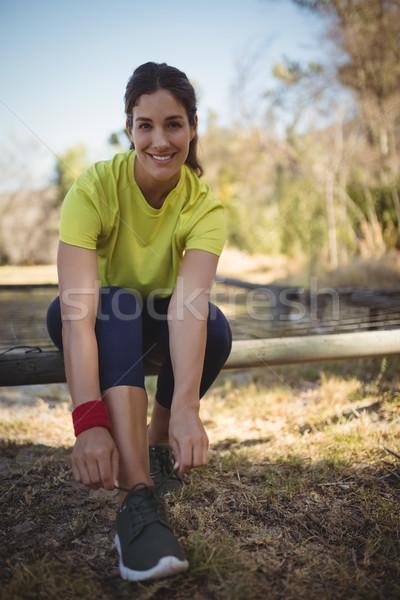 肖像 美人 着用 靴 トレーニング ストックフォト © wavebreak_media