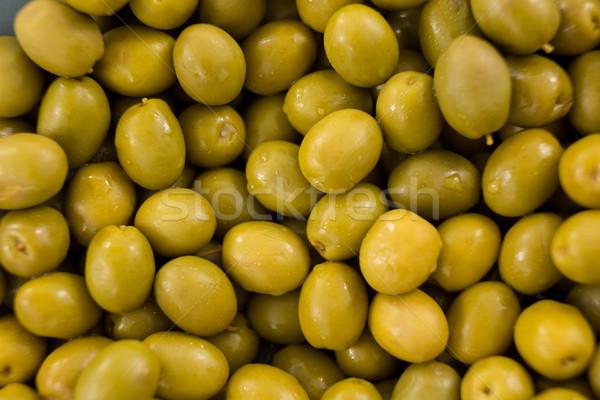 Marynowane zielone oliwek owoców zdrowych Zdjęcia stock © wavebreak_media