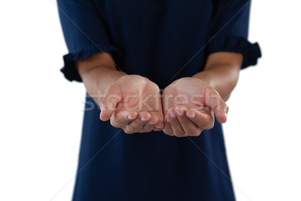 çaresiz kadın yürütme eller Stok fotoğraf © wavebreak_media