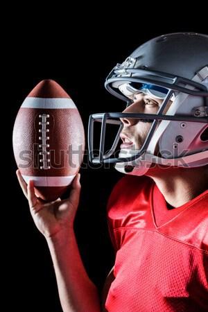 американский футболист футбола оба рук Сток-фото © wavebreak_media
