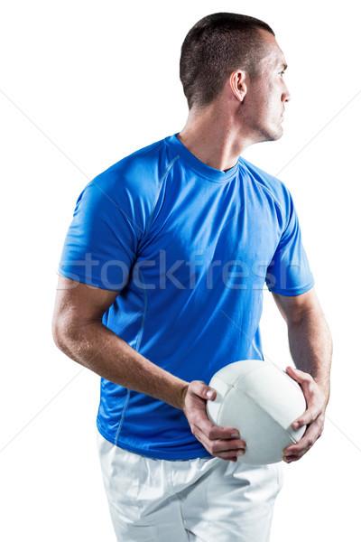 Rugby gracz piłka człowiek Zdjęcia stock © wavebreak_media