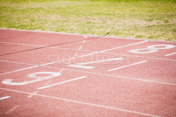Principio ejecutando tema estadio deportes juego Foto stock © wavebreak_media
