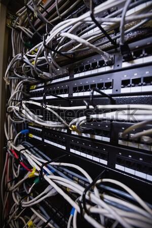 Rack Server Zimmer Technologie Netzwerk Stock foto © wavebreak_media