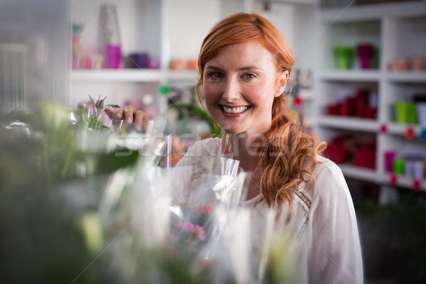 Portrait of female florist standing Stock photo © wavebreak_media