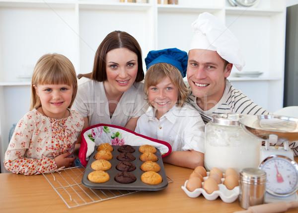 семьи кухне дома Сток-фото © wavebreak_media