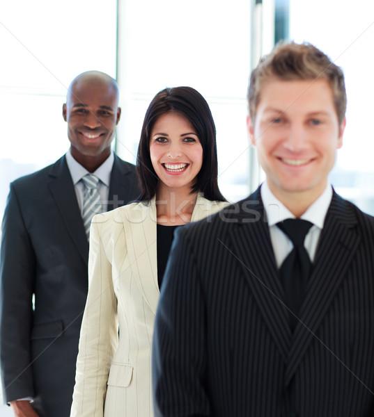 красивой деловая женщина Focus команда молодые бизнеса Сток-фото © wavebreak_media