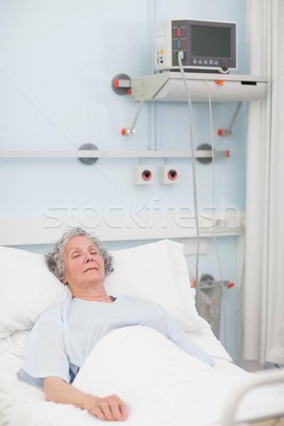 Сток-фото: пожилого · пациент · больницу · человека · глазах
