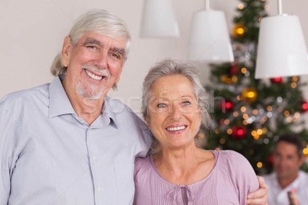 Happy grandparents at christmas Stock photo © wavebreak_media