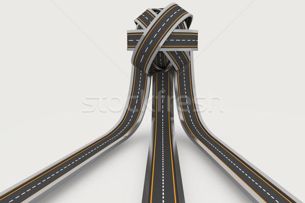 Tangled ball of roads Stock photo © wavebreak_media
