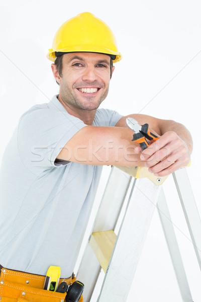 技術者 ステップ はしご 肖像 ストックフォト © wavebreak_media