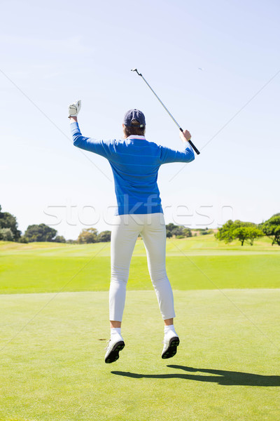 Homme golfeur golf femme Photo stock © wavebreak_media