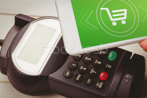 Composite image of payment screen Stock photo © wavebreak_media