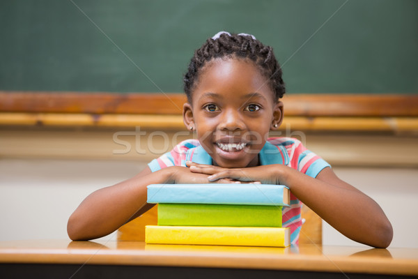 Glimlachend vergadering bureau school gelukkig Stockfoto © wavebreak_media