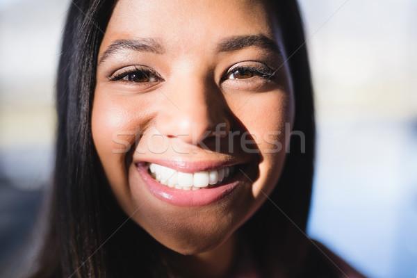 Close up portrait of businesswoman Stock photo © wavebreak_media