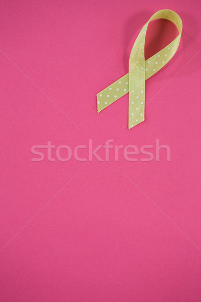 Vue vert conscience ruban rose Photo stock © wavebreak_media