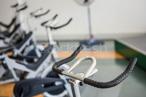 Spor salonu hiçbir insan iç sağlık kulüp egzersiz Stok fotoğraf © wavebreak_media