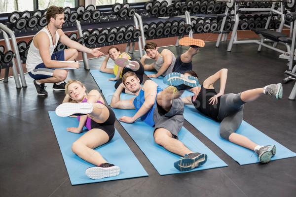 Fitness class working their legs Stock photo © wavebreak_media