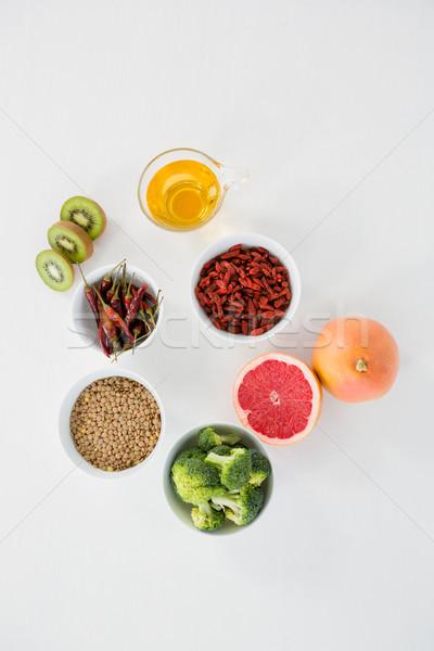 Ver comida beber cinza saúde chá Foto stock © wavebreak_media