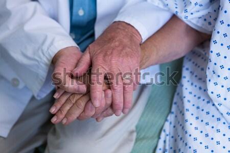 医師 患者 病院 女性 男 健康 ストックフォト © wavebreak_media