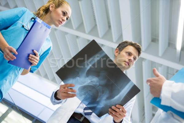 врачи хирург Xray больницу человека Сток-фото © wavebreak_media