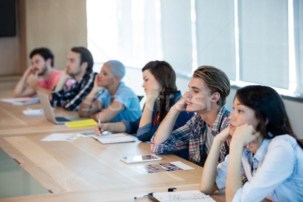 退屈 創造 ビジネスチーム 会議 会議室 ビジネス ストックフォト © wavebreak_media