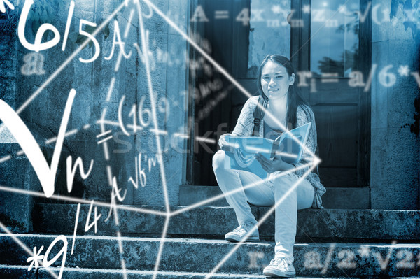 Composite image of math problems Stock photo © wavebreak_media
