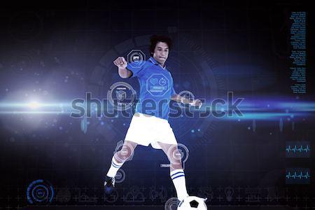 Obraz rugby gracz rugby ball Zdjęcia stock © wavebreak_media