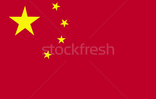 Chineese Flag Stock photo © wavebreak_media