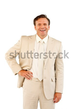 Portrait of a self-assured businessman with a thumb up Stock photo © wavebreak_media