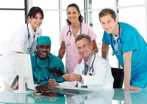 Group of doctors in a meeting Stock photo © wavebreak_media