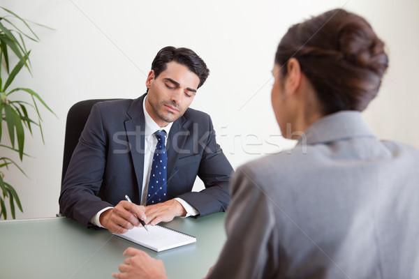 мозговая атака служба бизнеса заседание бизнесмен исполнительного Сток-фото © wavebreak_media