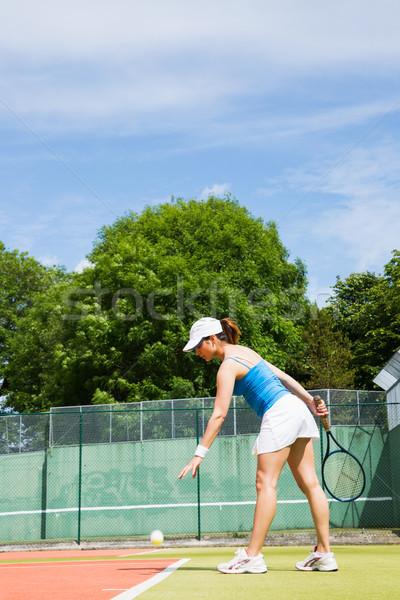 スポーツ フィットネス 訓練 女性 ストックフォト © wavebreak_media