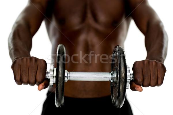 Encajar sin camisa hombre Foto stock © wavebreak_media