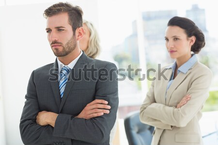 Business colleagues in argument at office Stock photo © wavebreak_media