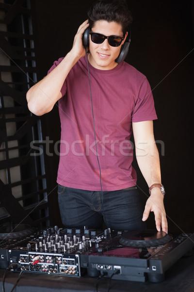 Fresco gafas de sol música fiesta bar noche Foto stock © wavebreak_media