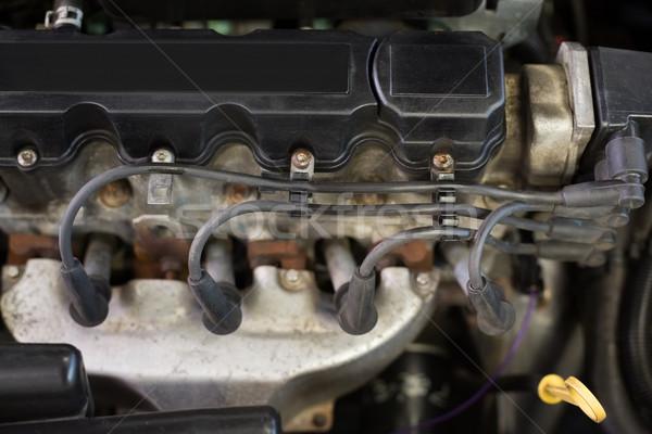Motore riparazione garage auto industria Foto d'archivio © wavebreak_media