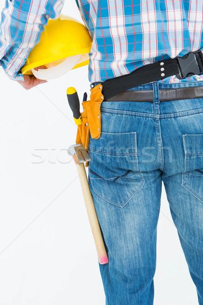 вид сзади мастер на все руки инструментом пояса Сток-фото © wavebreak_media