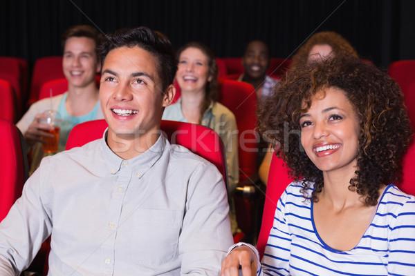 Assistindo filme cinema filme cadeira Foto stock © wavebreak_media