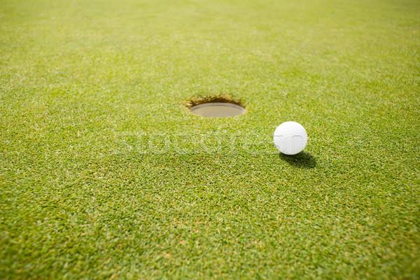 Golf ball near the hole  Stock photo © wavebreak_media
