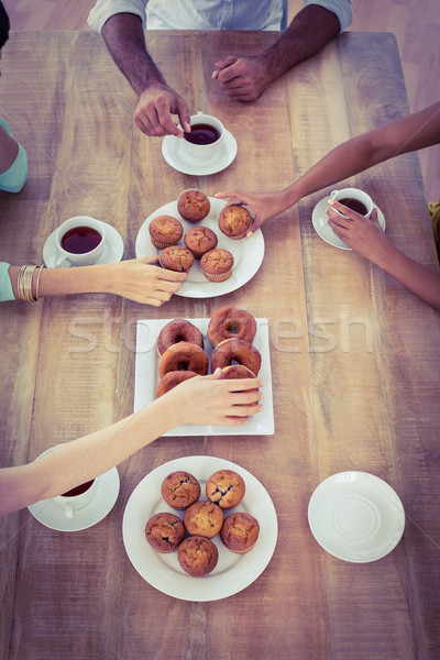 Business people having dessert Stock photo © wavebreak_media